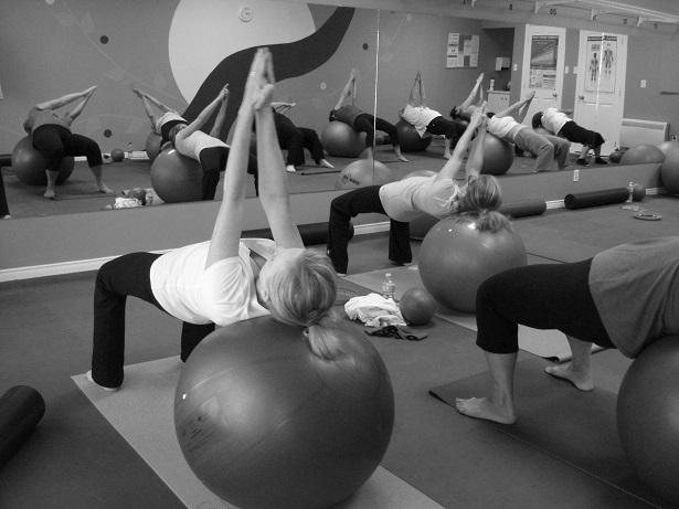 Exercice FlexyTonus sur gros ballon
