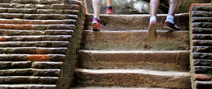 Les fessiers: Comment les activer en montant les escaliers?